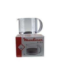 Koffiekan DIVA wit 12 kops koffiezetter Moulinex 6592 NML