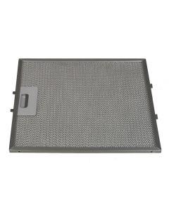 Filter metaal 305 x 268mm afzuigkap Bauknecht Whirlpool IKEA 6858