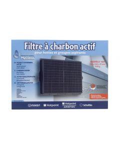 Filter koolstof 29 x 23cm afzuigkap Ariston Blue Air Neff Scholtes Bosch Siemens Bauknecht Whirlpool 6929