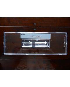 Voorzijde diepvries 44x15.5 cm  koelkast AEG Electrolux 13710