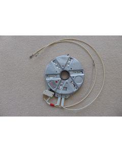 keramische kookplaat Ø 175 mm met gat 2 aansluitingen 1500W 220 volt fornuis  kookplaat EGO Bauknecht Whirlpool 13894