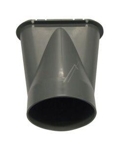 Adapter koppelstuk rond 100mm naar ovaal airco Delonghi 11817