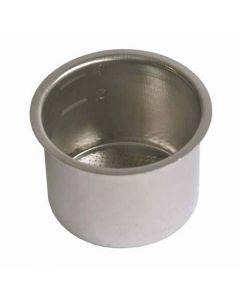 Filter inzet 2+4 kopjes koffiezetter espresso origineel Delonghi 10337