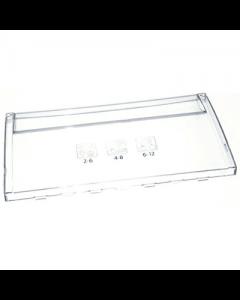 Paneel front van onderste diepvries lade koelkast diepvries Blomberg Beko 16541