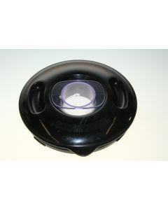 Deksel zwart met dop van blender keukenmachine origineel Kenwood 11102