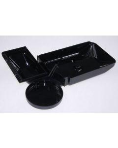 Wateropvangbak lekbak zwart koffie espresso origineel Siemens Bosch 11448