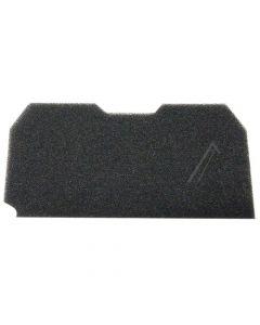 Filter spons wasdroger 215 x 105 mm warmtepomp Beko Blomberg 11514
