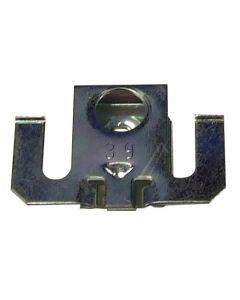 Klem metaal voor houder decorplaat vaatwasser Bauknecht Etna Ignis Ikea Pelgrim Whirlpool 11585