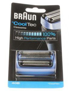 Combipack CoolTec 40B zwart scheerapparaat Braun 12419