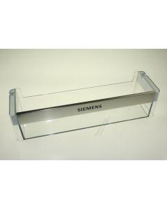 Flessenrek koelkast transparant 44x10x12.5 cm Bosch Siemens 12426