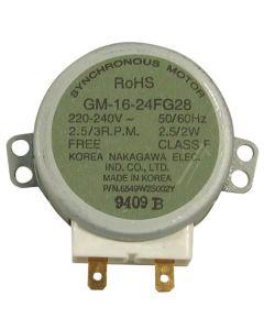 Motor glasplateau glasplaat origineel magnetron LG 12470