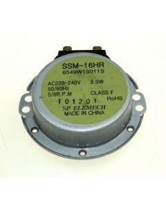 Motor glasplateau glasplaat origineel magnetron LG 12490