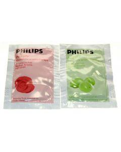 Navulling aromazakjes facial sauna Philips 12511