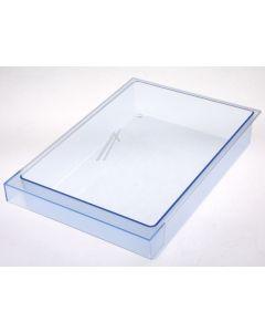 Bakje schaal onder glasplaat transparant koelkast Siemens Balay Neff Bosch 12905