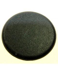 Brander deksel 35 mm klein zwart gaskookplaat fornuis origineel Ariston Blue Air Scholtes Hotpoint Indesit 13297