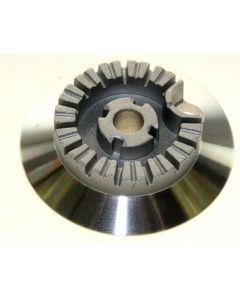 Brander klein 66mm  fornuis gaskookplaat Bauknecht Whirlpool 13401
