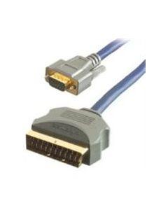 Kabel Scart -> VGA 5 meter 3789
