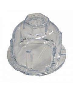 Glaasje beschermkap lamp voor 40mm opening  wasdroger orgineel Miele 223