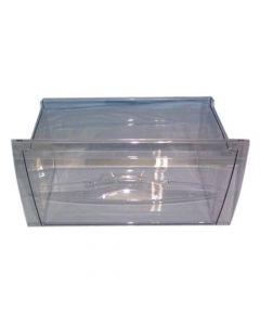 Vrieslade 41/43x25x22/15.5 cm transparant smal diepvries koelkast Beko 9122