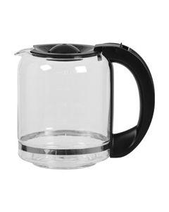 Koffiekan zwart koffiezetter Domo 2298