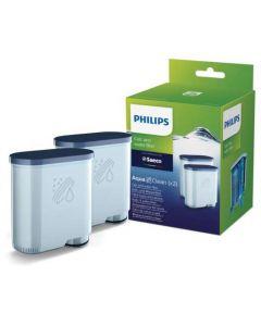 Filter anti kalk cassette waterfilter origineel ( 2 Stuks!!! ) Aquaclean koffie koffiezetapparaat Philips Saeco 15842