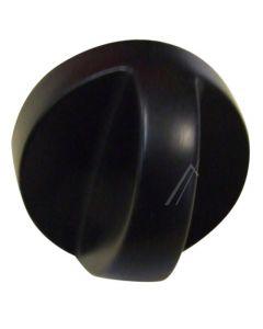 Knop zwart gas fornuis kookplaat  origineel ATAG Pelgrim 13415