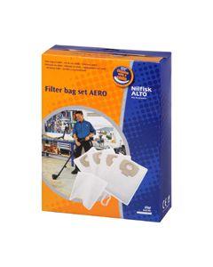 Stofzuigerzak fleece origineel Alto Aero + filter Nilfisk 998