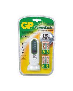 Batterij lader +4AA 2700mAh V800C origineel GP 3084
