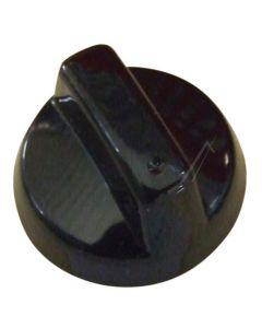 Knop zwart elektrisch fornuis oven origineel Atag Etna 13414