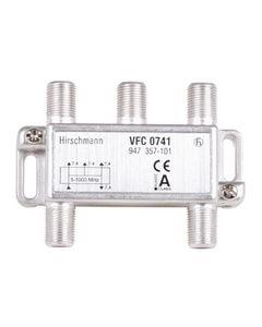 Verdeel element viervoudig origineel Hirschmann  2228