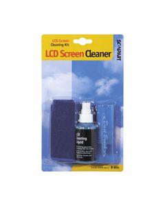 LCD reinigingsset 60ml+borstel+doekje  5624