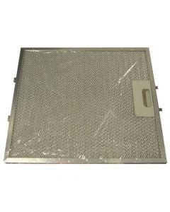 Filter metaal 267.5 x 305.5mm afzuigkap Aeg Electrolux 6885