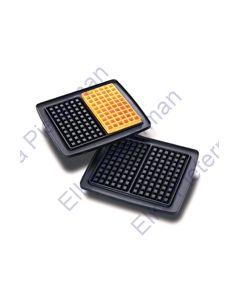 Set wafelplaten wafelijzer 6x10 PL-202 Nova 13888