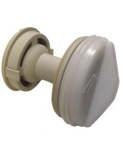 Filter inzet van pomp wasmachine origineel Miele 7428