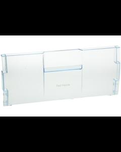 Front paneel boven voorfront vrieslade klep koelkast diepvries Beko 8517
