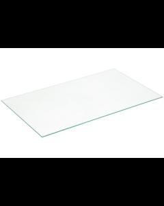 Glasplaat boven groentelade 510x300mm koelkast origineel Smeg 16490