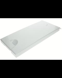 Vriesvakdeur Vriesvakklep wit  50.5 x 22.8 cm koelkast Smeg 8735