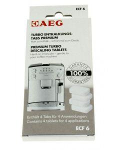 ECF3 ECF6 ontkalkingstabletten koffiezetter AEG Electrolux  5198
