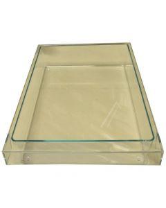 Bakje onder glasplaat transparant koelkast Siemens Neff Bosch 8472
