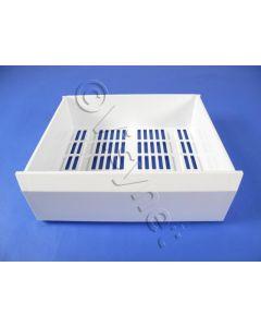 Diepvrieslade boven 390x440x140mm wit lade koelkast Atag Etna Smeg Ignis Ikea Whirlpool Bauknecht  8504