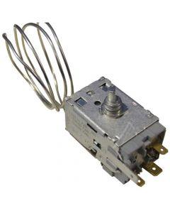 Vervanger Thermostaat + Lamphouder/fitting koelkast A13 0696 R Bauknecht Atag Etna Ignis Ikea Smeg Whirlpool 8643