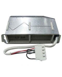 Verwarmings element 1400 + 1000W incl. 2 clixons wasdroger Aeg Electrolux Marijnen Zanussi Zanker 8812
