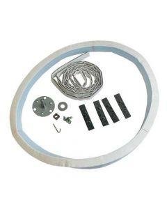 Trommelas reparatie set wasdroger Ariston BlueAir Creda Hotpoint Indesit 8963