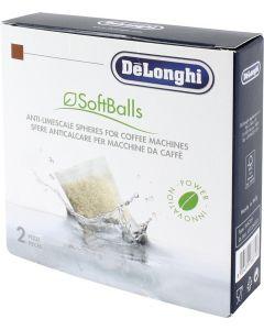 Antikalk ontkalker korrels SoftBalls voor koffiezetapparaat Delonghi 16003