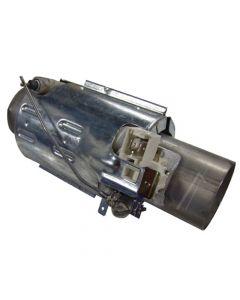 Verwarmingselement doorstroom 40 mm 2100w 15 cm vaatwasser Aeg Atag Etna Electrolux Juno Marijnen Pelgrim Zanussi Zanker 9308