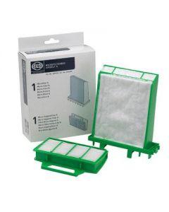 Filterset microfilter hygienefilter stofzuiger airbelt origineel Sebo 9851