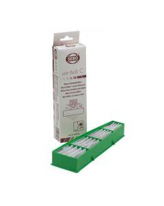 Filter micro koolstoffilter stofzuiger airbelt origineel Sebo 9861