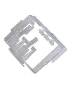 Behuizing van print module houder vaatwasser origineel Smeg 9914