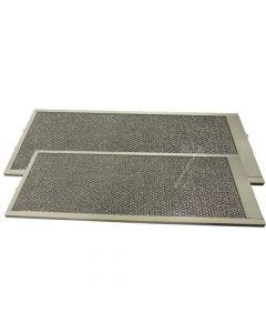 Filter metaal 53 x 20,6cm afzuigkap Siemens Bosch Neff 6867