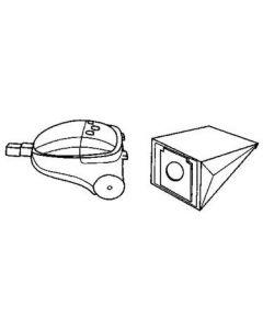 Stofzuiger zakken fleece 8 stuks Tristar SMC Holland Elektro Home Electronics Bestron Clatronic Team Lilly  4900